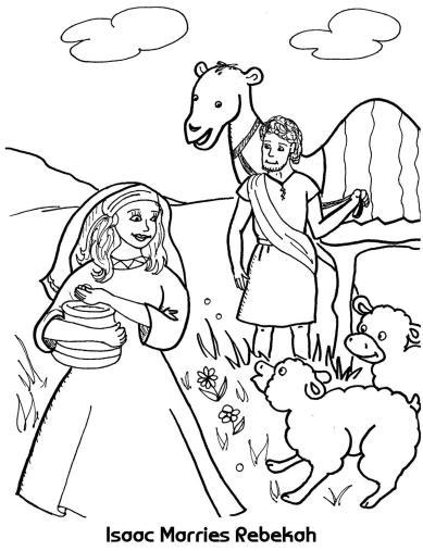 Isaac-Marries-Rebekah